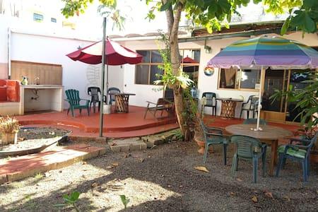 suite low level enjoy the garden relax down Town Guayabitos