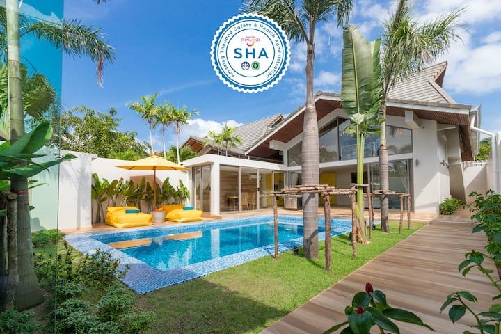 Villa Mai Tai – 300 m to beach