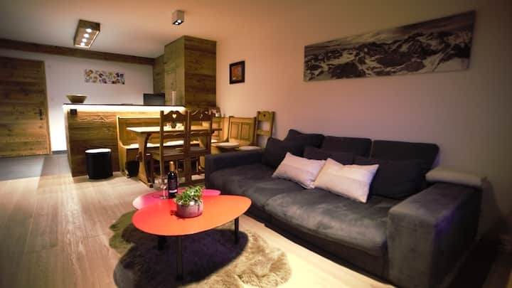 Cosy 2-bedroom Verbier flat near Medran