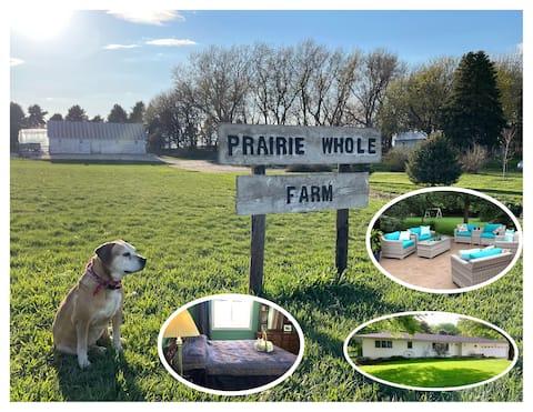 Prairie Whole Farm Airbnb