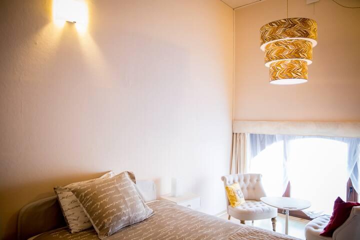 B&B - suite 2 chambres: 1 à 4p.