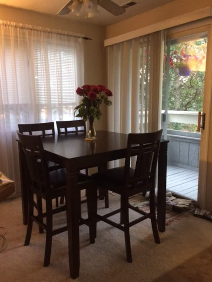 Comfy 2 br 2 ba Condo with everything you need.
