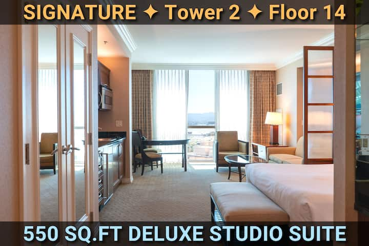 Signature@MGM Suite • BY THE STRIP • NO RESORT FEE