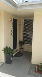 There are Crim Safe screen doors fitted to the front and rear doors  for added security.