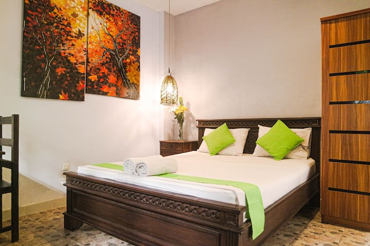 A compact Room Dieng at Atmos Co-Living