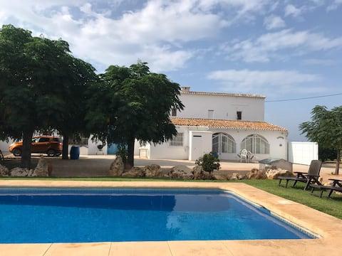 Villa Tia Rosa, med privat pool