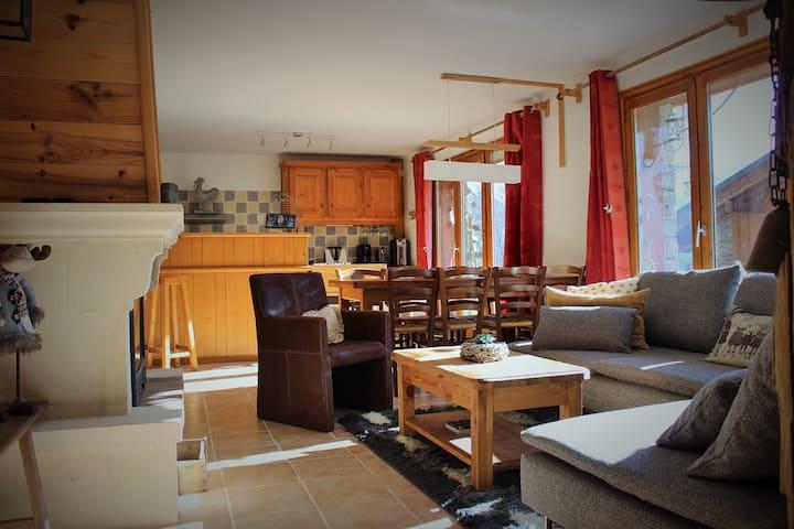 Village - Appartement 4 pièces - 90m², 7 personnes