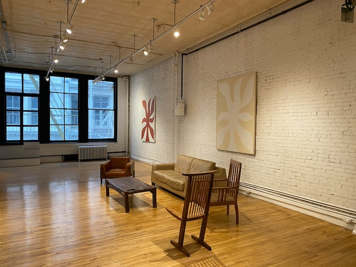 Prime SoHo Block Original Full Floor Artist Loft