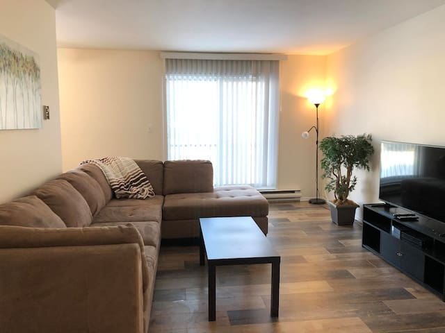 Bright 2 bedroom furnished apartment B307