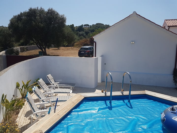 Lovely farmhouse near Alcobaça and Sylver Coast