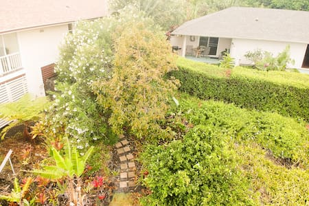 Private pathway to your private yard and patio. The ultimate sanctuary.