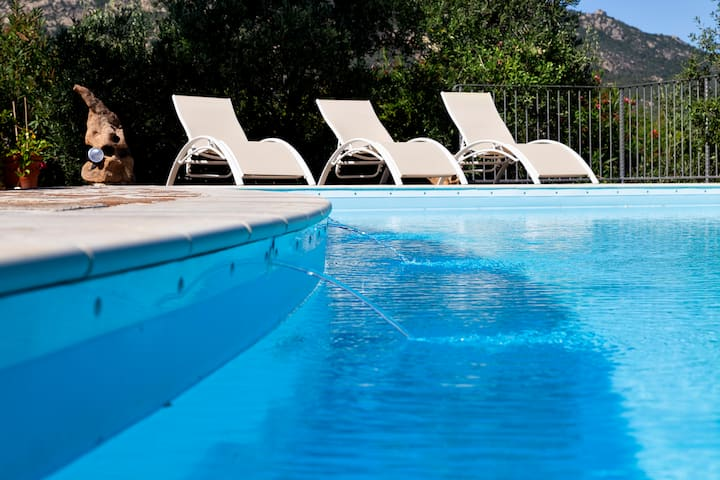 Villa Anastasia Camera doppia in villa con piscina