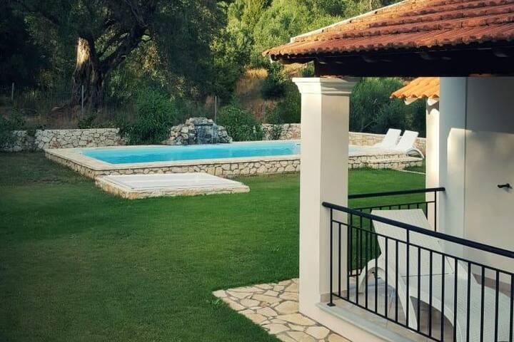 Afionas, Noord Corfu