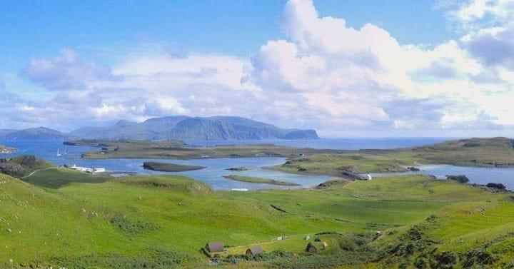 Eagle Camping Pod on Isle of Canna