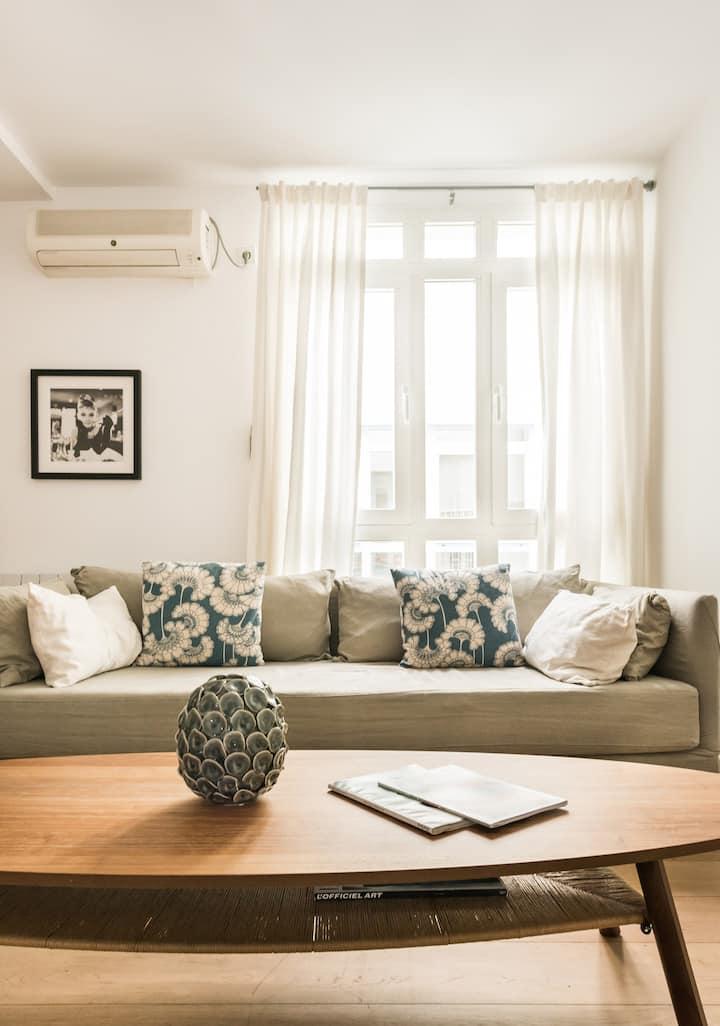 Súper confortable apartamento en MALASAÑA