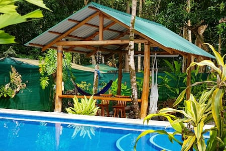 Cabina Amarilla with a Pool, Beach, wifi & more!