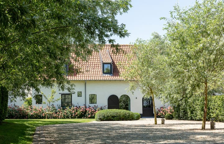't Klein Keuvelhof vakantiewoning Knokse polders