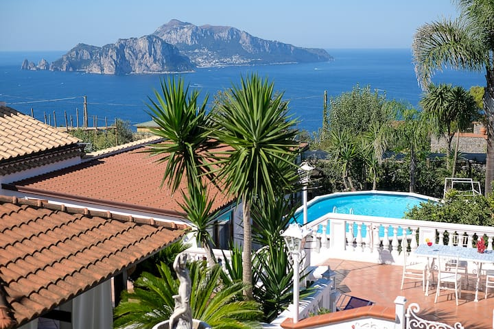 The garden on Capri, with private pool