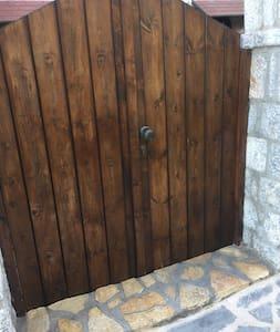 Breiter Eingang für Gäste