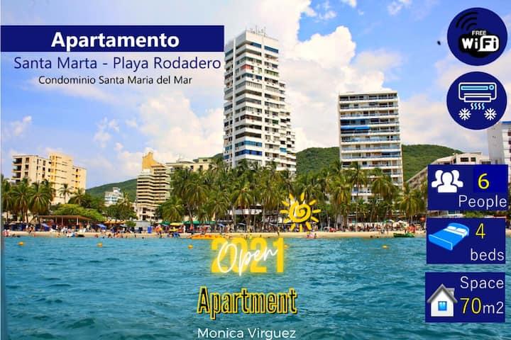 ❤️Aparment in Playa Rodadero ⭐️ Sea & Beach ⭐️