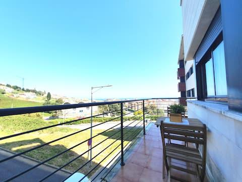 Mirador de Luanco - 5 pax with terrace and views