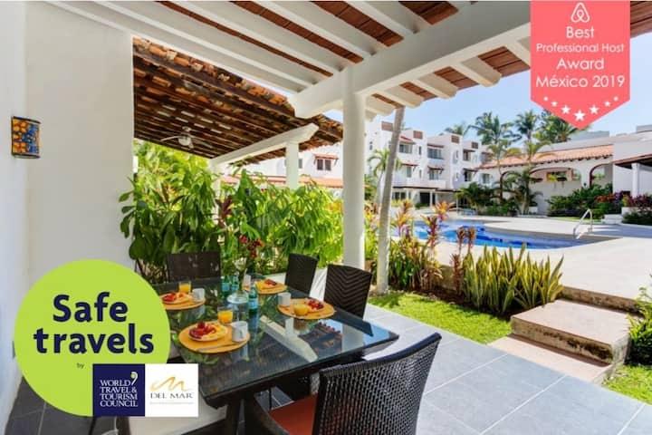 Modern Mexican Style Beach House