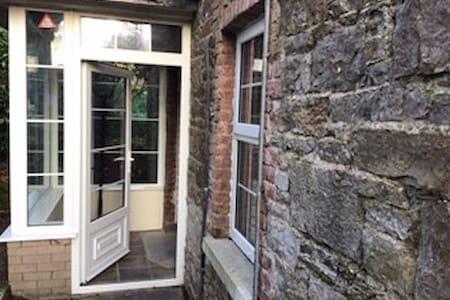 entrance to porch