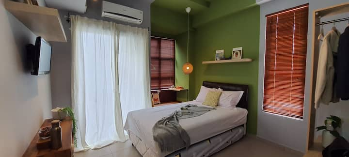 Green studio at the heart of BSD City