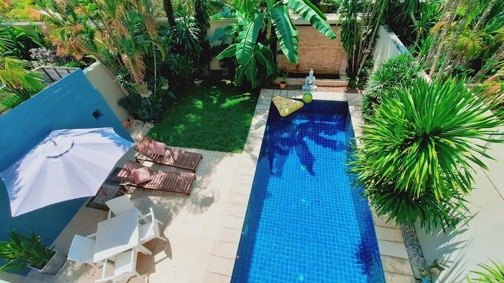 LUXURY Gated Estate Private Pool Villa- 2 Bedrooms