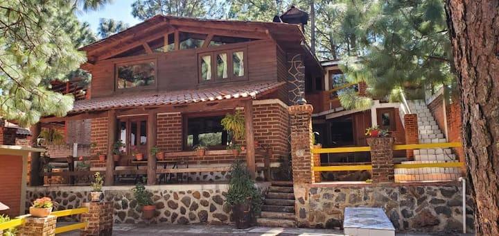 Cabaña Grande En Mazamitla