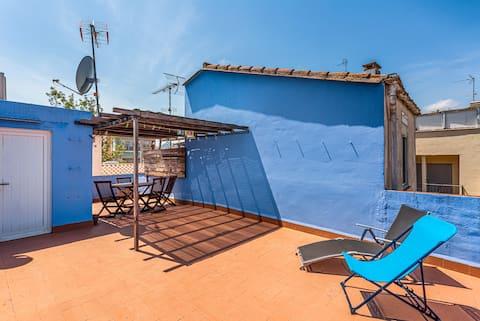 Et dejligt sted i nærheden af stranden og 35' fra Barcelona
