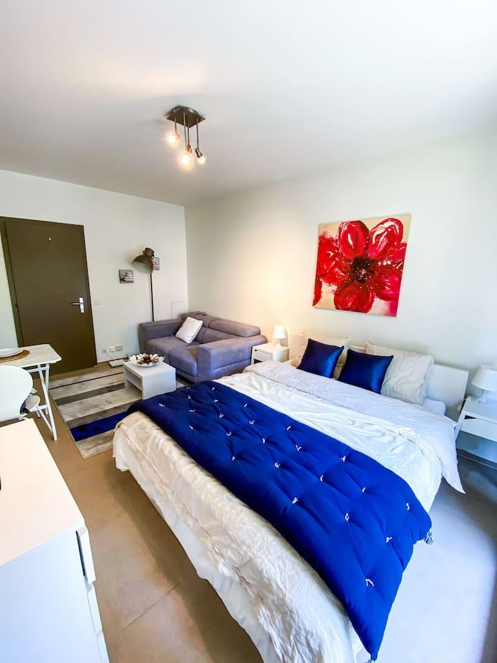 1 Bedroom Studio apartment- United Nations
