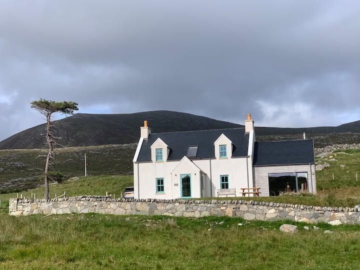 Luskentyre Quiller Cottage, Isle of Harris