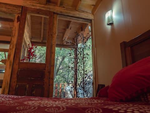 Acogedora cabaña para dos, inserta en naturaleza