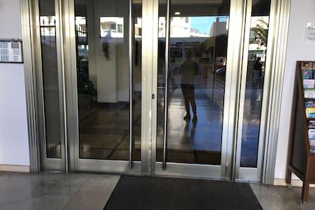 Acceso sin escalones a la entrada exterior