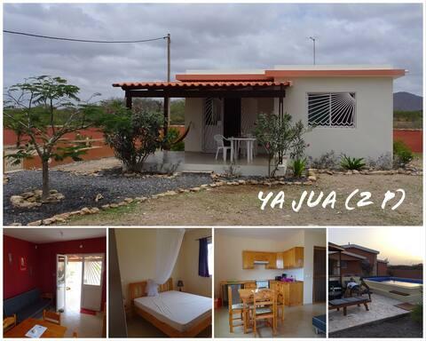 Maison Ya Jua piscine, nature et tranquilité, WIFI