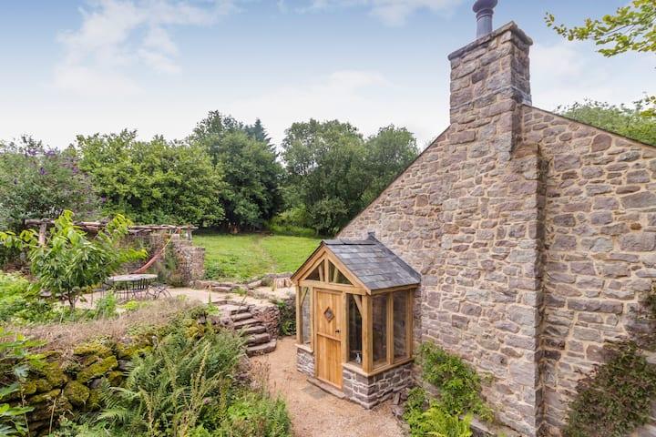 Birch Cottage - Eco-retreat - Woodland Sauna