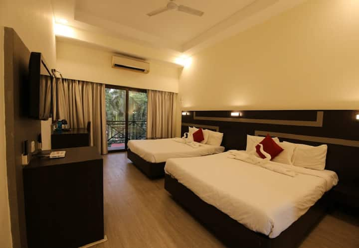 Deluxe room - Khanvel Resort