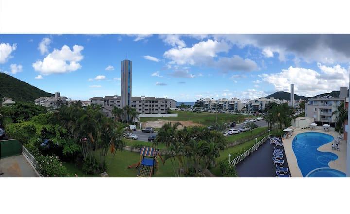 Beautiful Balcony View in Exclusive Floripa Beach