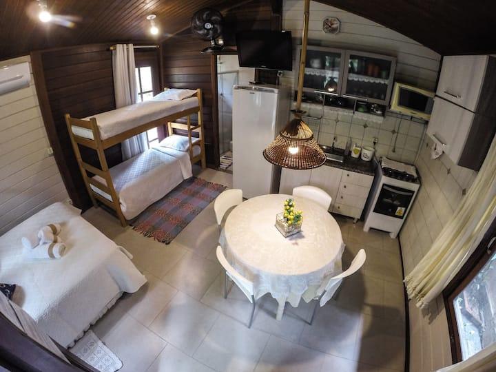 Morada Aguiar - Kitnet com cozinha