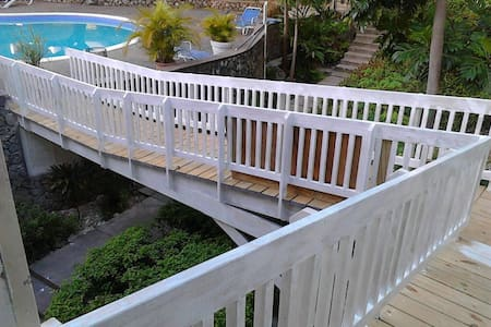Easy access to the Apartment & to the pool