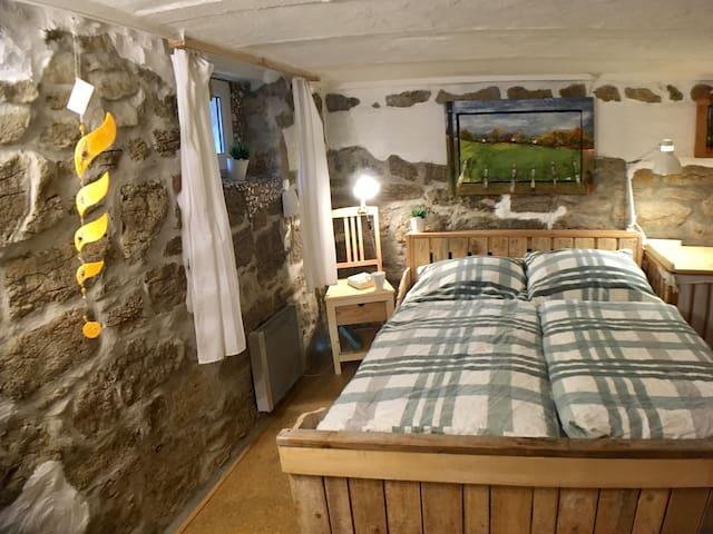 Das Schlafzimmer im besonderen Look.