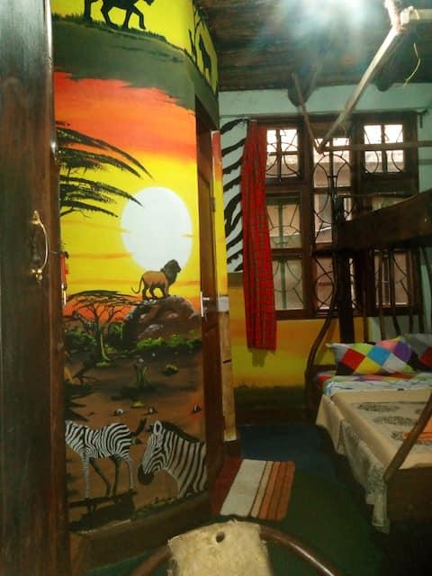 Gerald 's Eco House - Simba-huone