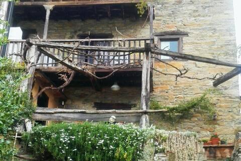 Village cottage for rest.