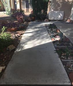 Walkway leading to front door is 33 inches wide