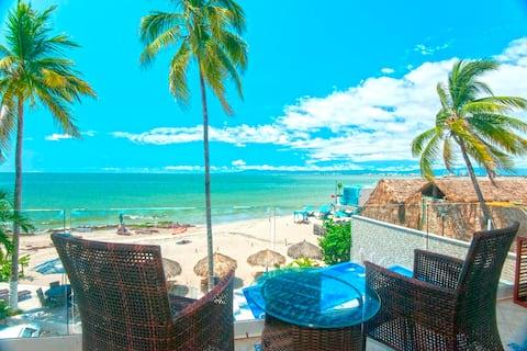 1 BR beachfront Vallarta Shores #6