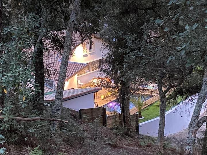 Maison 10 personnes havre de paix à Seignosse