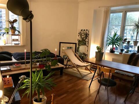 Designers's big&cosy room in Copenhagen, Østerbro!