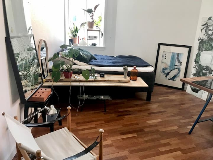 Bright, big , cosy room in Copenhagen, Østerbro!