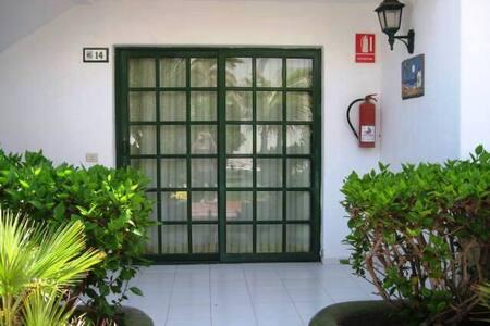 Es la entrada de apartamento.